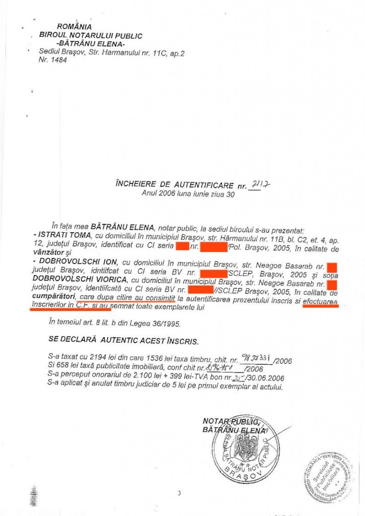 1. Vasile Lascăr - vanzare - Toma ISTRATI - DOBROVOLSCHI[editat conform legii].03