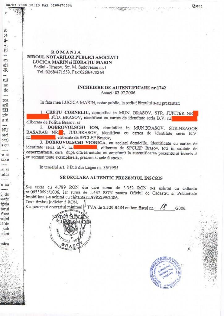 2. Vasile Lascăr - vanzare - DOBROVOLSCHI - CREȚU[editat conform legii].03