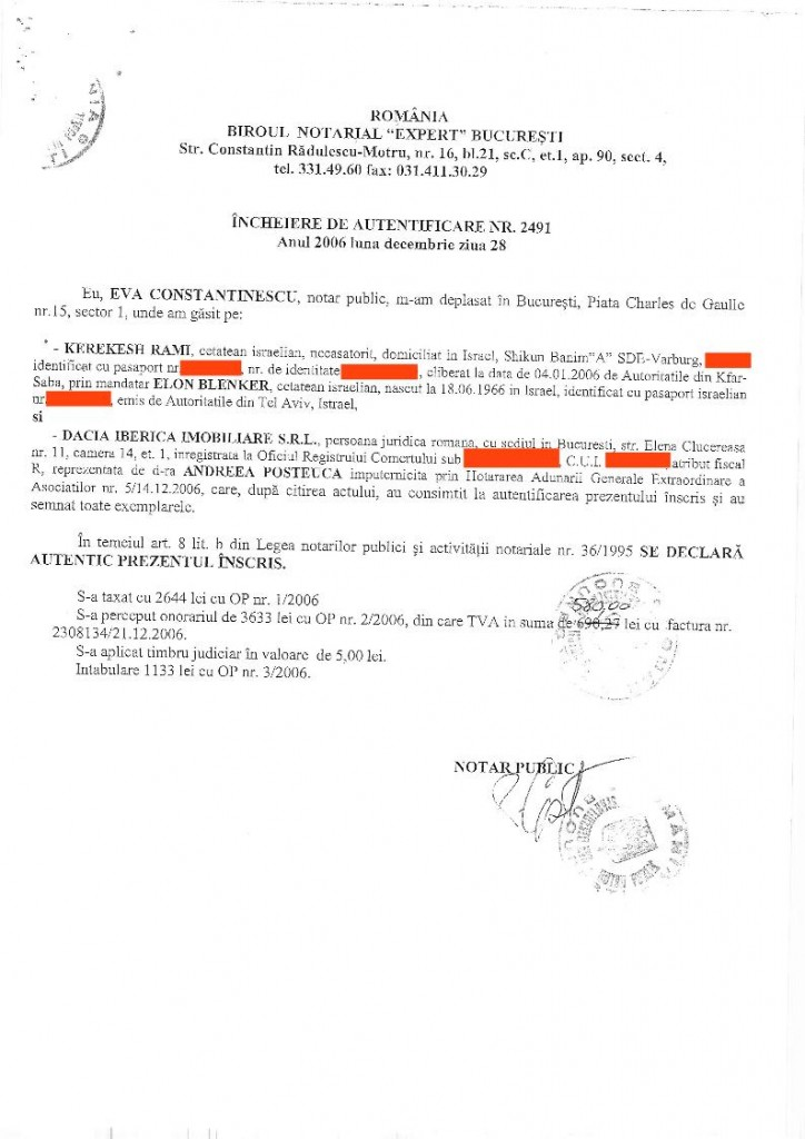 4. Vasile Lascăr - vanzare - KEREKESH - DACIA IBERICA - pret final[editat conform legii].06
